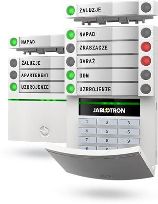 Alarm do domu, firmy Jablotron 100