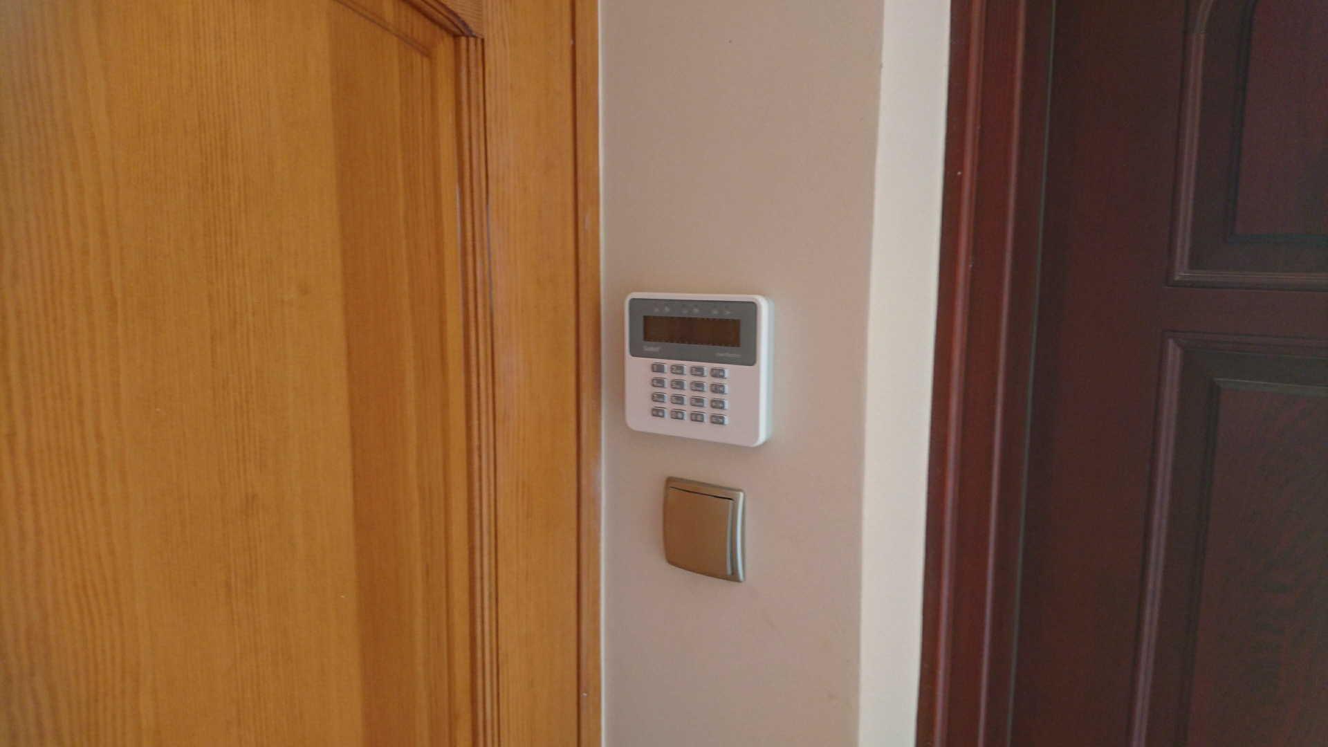 Bezprzewodowy system alarmowy.